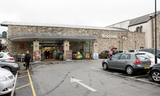 Booth's supermarket in Kendal. Photograph: Murdo MacLeod